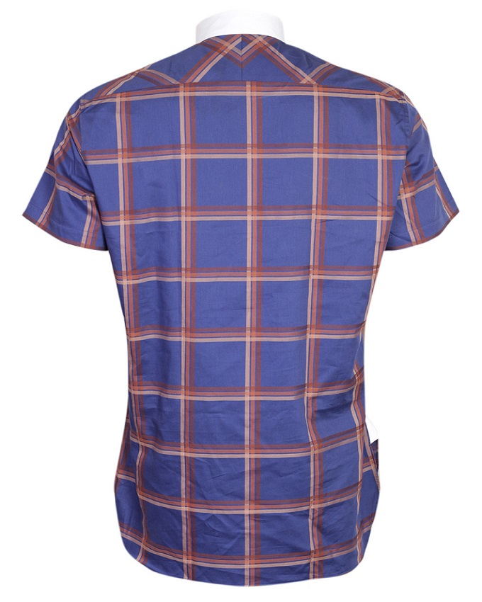 FPC Blue and Brown Check Shirt